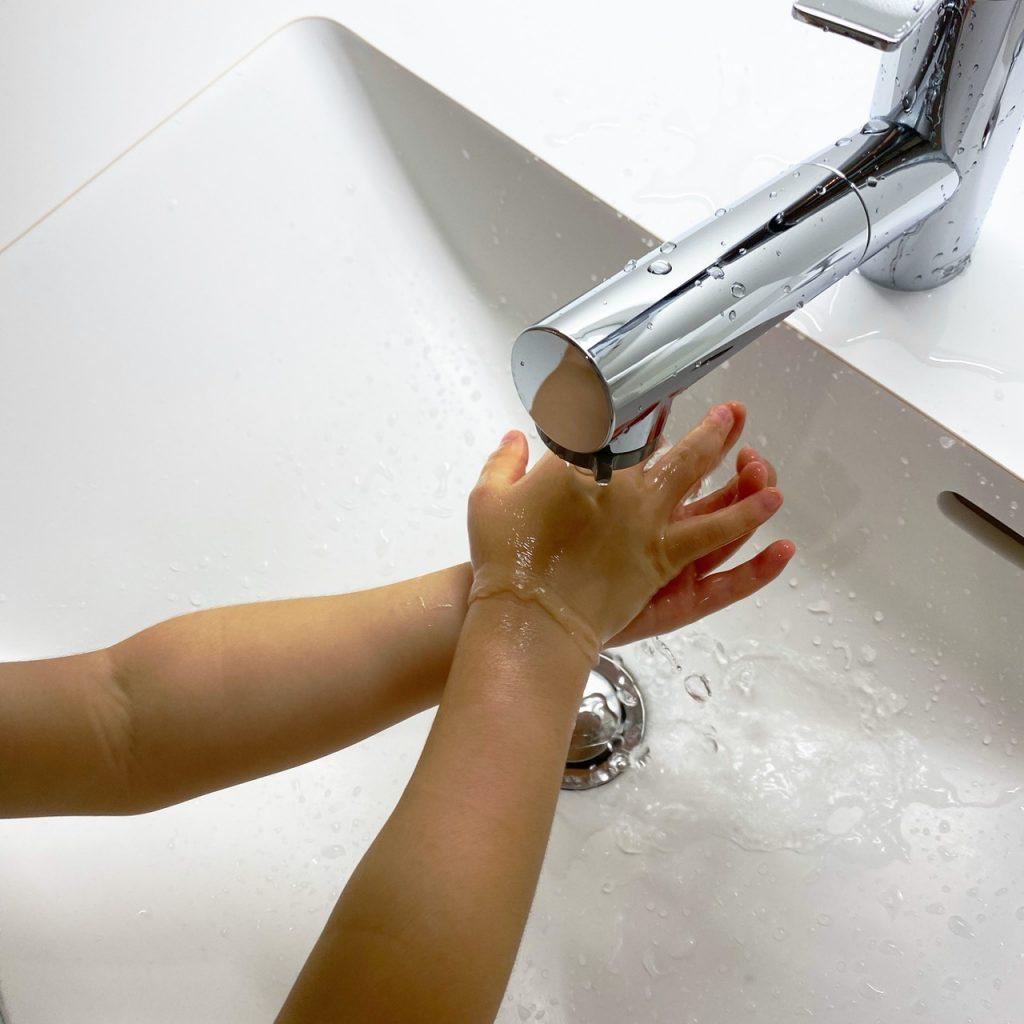 ピカピカ手洗い